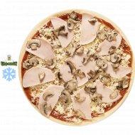 Полуфабрикат «Пицца от Шеф» с ветчиной и грибами, замороженный , 500 г.