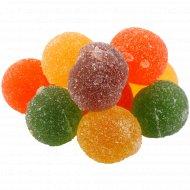 Мармелад жевательный «Фантазия» с фруктовыми ароматами, 1 кг., фасовка 0.3-0.35 кг