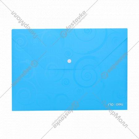 Папка-конверт на кнопке, А4, 39640.