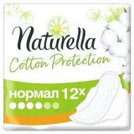 Гигиенические прокладки «Naturella» Cotton Protection, нормал, 12 шт.