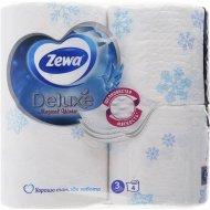 Туалетная бумага «Zewa» Deluxe, трехслойная, 4 рулона.