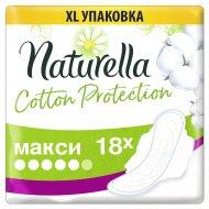 Гигиенические прокладки «Naturella» Cotton Protection, макси, 18 шт.