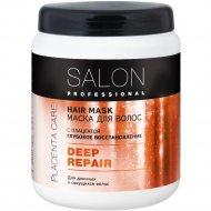 Маска для волос «Salon professional» с плацентой, 1000 мл.