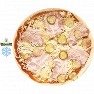 Полуфабрикат Пицца от Шефа «Деревенская» замороженный , 1/500.