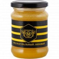 Мёд липовый «Медовая семья» 350 г.