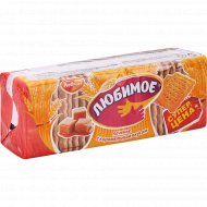 Печенье сахарное «Любимое» со вкусом карамели, 347 г