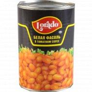 Белая фасоль «Lorado» в томатном соусе, 425 мл.