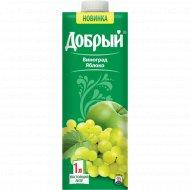 Нектар «Добрый» виноградно-яблочный, 1 л.
