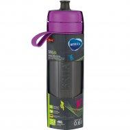 Фильтр-бутылка «Brita» Fill&Go Active, фиолетовая, 0.6 л