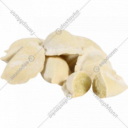Вареники с картофелем и грибами «Бабушкина кухня» замороженные, 1 кг., фасовка 0.8-1 кг