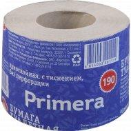 Бумага туалетная «Primera 190» 45 м, 1 рулон.