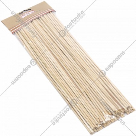 Набор шпажек бамбуковых 20 см, 90 шт.