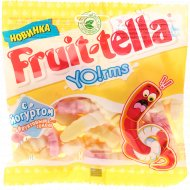 Мармелад жевательный «Fruittella Yo!rms» йогурт и фрукты, 138 г.