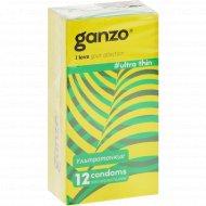 Презервативы «Ganzo» Ultra Thin, №12