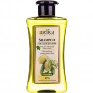 Шампунь «Melica» для окрашеных волос с экстрактом оливы, 300 мл.