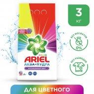 Порошок стиральный «Ariel» чистота deluxe color, 3 кг.
