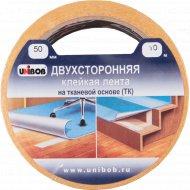 Клейкая лента двусторонняя «Unibob» 50 мм х 10 м.