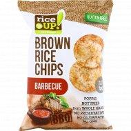 Цельнозерновые чипсы «Brown Rice Chips» барбекю, 60 г.
