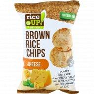 Цельнозерновые чипсы «Brown Rice Chips» с сыром, 60 г.