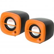 Колонки «Omega» OG-15, оранжевый