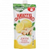 Джем «Махеевъ» лимон с имбирем, 300 г.