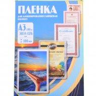Пленка для ламинирования «Office Kit» PLP10630, 100 шт