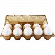 Яйца куриные пищевые столовые С-0, 10 шт.
