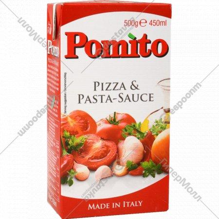 Соус томатный «Pomito» для пиццы и пасты, 500 г.