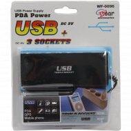 Тройник в прикуриватель с USB.