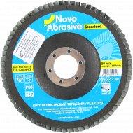 Круг лепестковый торцевой «Novoabrasive» Standard, P 60, Т27, NS2760125.