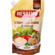 Майонез «Печагин» с перепелиными яйцами, 50%, 750 мл.