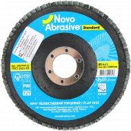 Круг лепестковый торцевой «Novoabrasive» Standard, P 80, Т27, NS2780125.