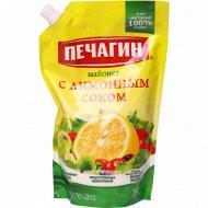 Майонез «Печагин» с лимонным соком, 50%, 750 мл.