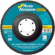 Круг лепестковый торцевой «Novoabrasive» Standard, P 100, Т27, NS27100125.