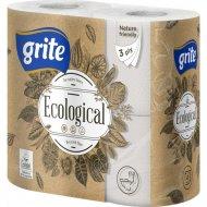 Туалетная бумага «Grite» Plius Ecological, 4 шт