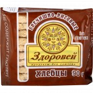 Хлебцы «Здоровей» гречишно-рисовые, 90 г.