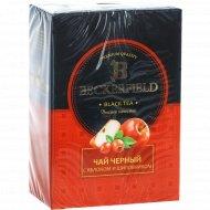 Чай чёрный «Beckerfield» с яблоком и шиповником, 100 г.