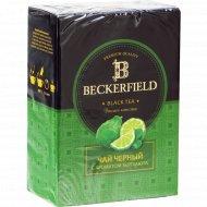Чай чёрный «Beckerfield» с ароматом бергамота, 100 г.
