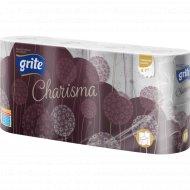 Туалетная бумага «Grite Charisma» 8 рулонов.