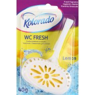 Туалетный брусок «Kolorado» WC Fresh лимон, 40 г.