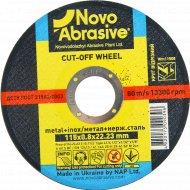Круг отрезной по металлу «Novoabrasive» 41, 14А, 115, 0,8,22,23, WM11508.