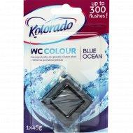 Таблетки для смывного бачка «Kolorado» голубой океан, 45 г.