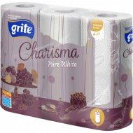 Бумажные полотенца «Grite Charisma» 3 рулона.