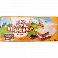 Вафли «Коровка» с шоколадной начинкой, 300 г