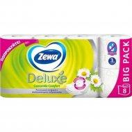 Бумага туалетная «Zewa Deluxe» 8 рулона.