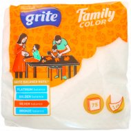 Салфетки бумажные «Grite» Family White, 24x24, белые.
