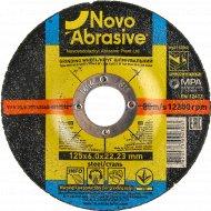 Круг шлифовальный по металлу «Novoabrasive» 27, 14А, 125, 6,0 22,23, WG12560.