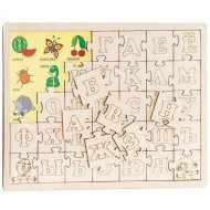 Пазл «Изучаем алфавит» 34 элементов.