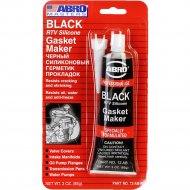 Герметик силиконовый «Abro» черный, 85г.