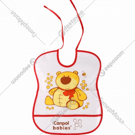 Нагрудник «Canpol babies» клеенчатый.